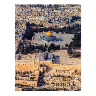Temple Mount Old City Jerusalem Dome of the Rock Postcard