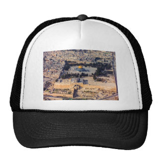 Temple Mount Old City Jerusalem Dome of the Rock Trucker Hat