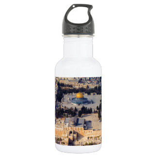 Temple Mount Old City Jerusalem Dome of the Rock Water Bottle