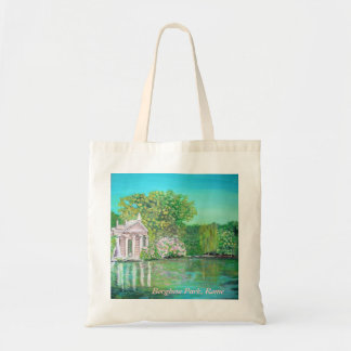 Temple of Aesculapius, Borghese Park, Rome Bag