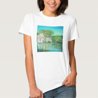 Temple of Aesculapius, Borghese Park, Rome Shirt