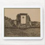 Temple of Amenophis, Egypt circa 1867 Mousepad