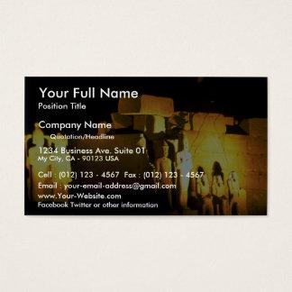 Temple of Amon, Karnak Temple, Luxor, Egypt Desert Business Card