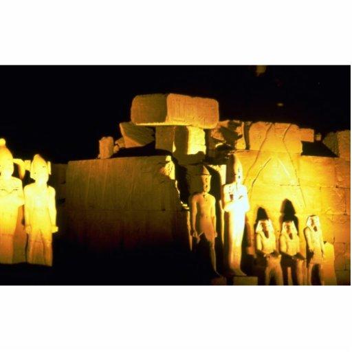 Temple of Amon, Karnak Temple, Luxor, Egypt Desert Photo Cutout
