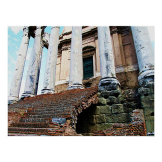 Temple of Antoninus and Faustina POSTER