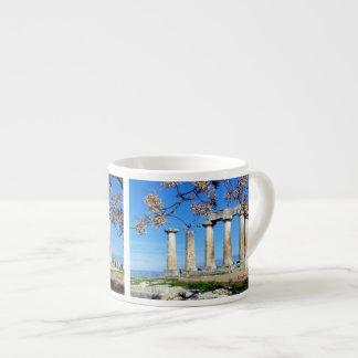 Temple of Apollo – Corinth 6 Oz Ceramic Espresso Cup