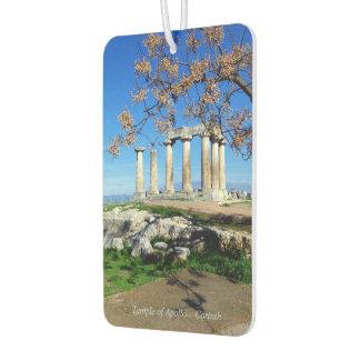 Temple of Apollo – Corinth Car Air Freshener