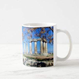 Temple of Apollo – Corinth Coffee Mug