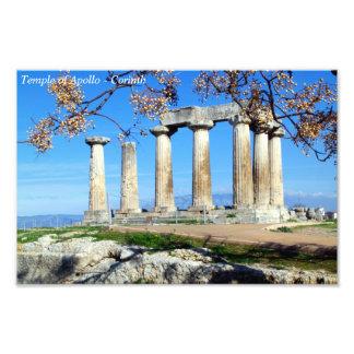 Temple of Apollo – Corinth Photo Print