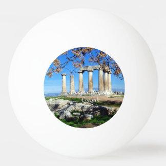 Temple of Apollo – Corinth Ping Pong Ball
