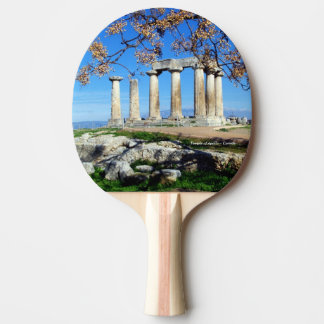 Temple of Apollo – Corinth Ping Pong Paddle