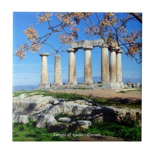 Temple of Apollo – Corinth Ceramic Tile