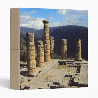 Temple of Apollo – Delphi Binder