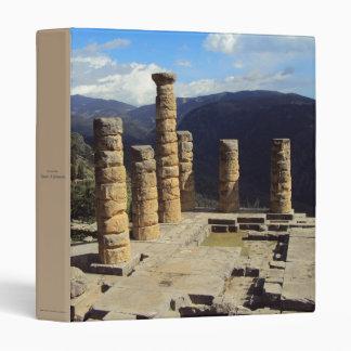 Temple of Apollo – Delphi 3 Ring Binder