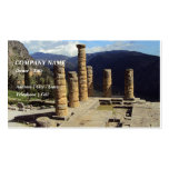Temple of Apollo – Delphi Double-Sided Standard Business Cards (Pack Of 100)