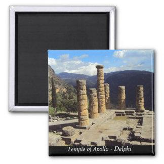 Temple of Apollo – Delphi Fridge Magnets