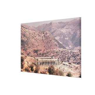 Temple of Apollo Epikourios, c.450-20 BC Gallery Wrapped Canvas
