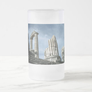 Temple Of Apollo, Turkey Frosted Glass Beer Mug