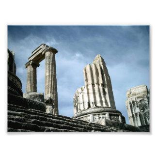 Temple Of Apollo, Turkey Photo Print