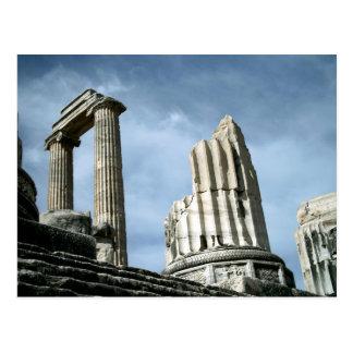 Temple Of Apollo, Turkey Postcard