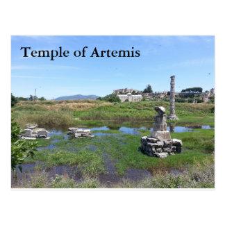 Temple of Artemis Postcard