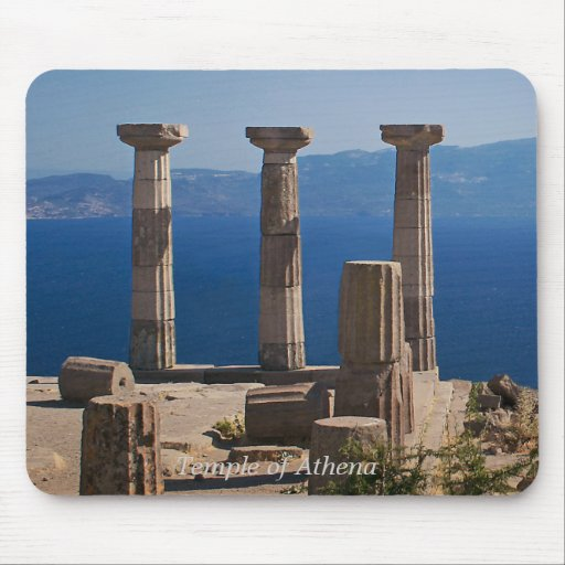 Temple Of Athena / ASSOS – Turkey Mouse Pad