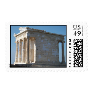 Temple of Athena Nike_01 Postage Stamp