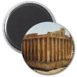 Temple of Bacchus 2 Inch Round Magnet