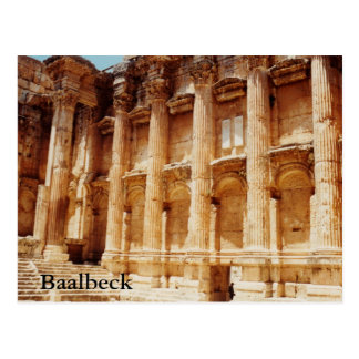 Temple of Bacchus Post Card