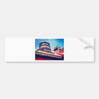 Temple of Buddhist Virtue at the Summer Palace Bumper Sticker