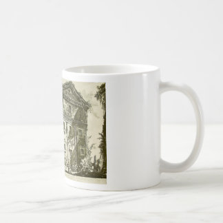 Temple of Ceres and Faustina by Giovanni Battista Classic White Coffee Mug