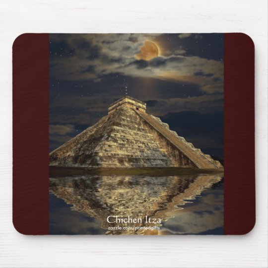 Temple of Chichen Itza 2012 Mayan Gift item Mouse Pad