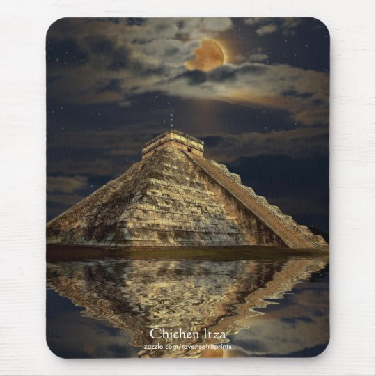 Temple of Chichen Itza 2012 Mayan Mousepad