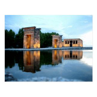 Temple of Debod - Madrid Postcard