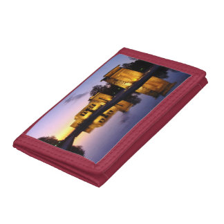 """""""Temple of Debod"""" Trifold Wallet"""