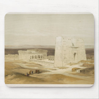 Temple of Edfu, ancient Apollinopolis, Upper Egypt Mouse Pad