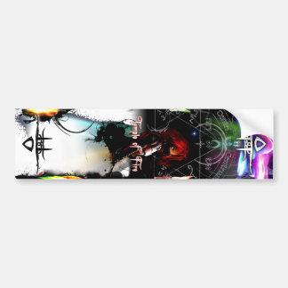 Temple of Fire Graphic Bumper Sticker
