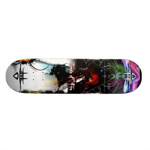 "Temple of Fire - Spirt,Earth 7 7/8"" Deck Skateboards"