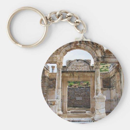 Temple of Hadrian, Ephesus Keychain