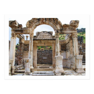 Temple of Hadrian, Ephesus Postcard
