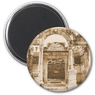 Temple of Hadrian in Ephesus VINTAGE PHOTOGRAPH Refrigerator Magnets