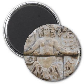 Temple of Hadrian, MEDUSA -  Picture of Medusa Refrigerator Magnets