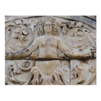Temple of Hadrian, MEDUSA -  Picture of Medusa Postcard