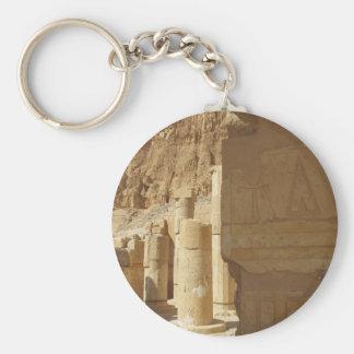 Temple of Hatshepsut Keychain