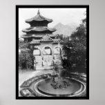 Temple of Heaven Seoul Korea 1925 Print