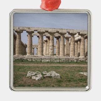 Temple of Hera I Metal Ornament