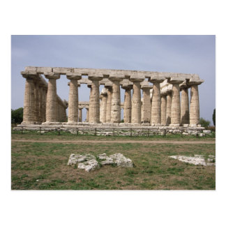 Temple of Hera I Postcard