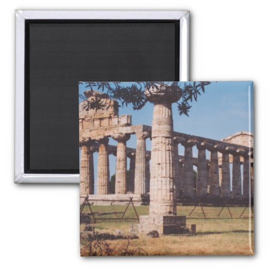 Temple of Hera Magnet