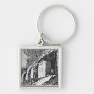 Temple of Inscriptions, Palenque Keychain