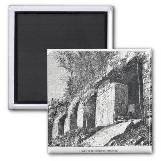 Temple of Inscriptions, Palenque Magnet